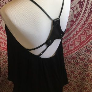 NWOT drapey top size S
